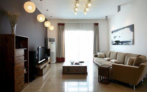 现代简约风格100平米复式房子装饰效果图
