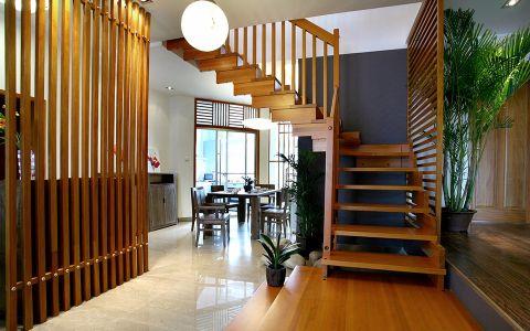 玄关楼梯现代简约风格装修设计图片