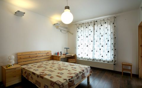儿童房窗帘现代简约风格装潢设计图片