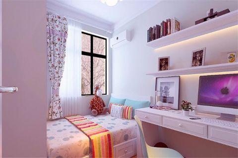 儿童房窗帘现代简约风格装修设计图片