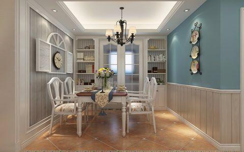 餐厅推拉门地中海风格装潢图片