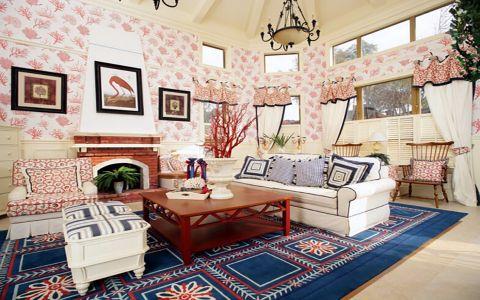 地中海风格125平米套房房子装饰效果图