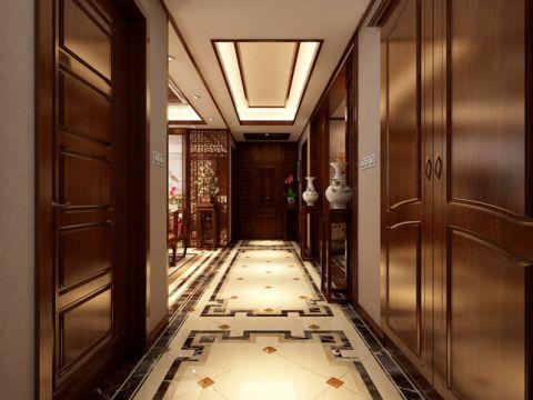 玄关吊顶中式风格装潢设计图片