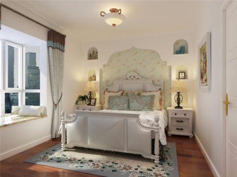 卧室窗帘地中海风格效果图