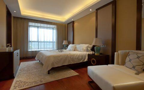 新中式风格188平米套房房子装饰效果图