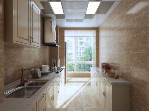 厨房背景墙欧式风格装饰图片