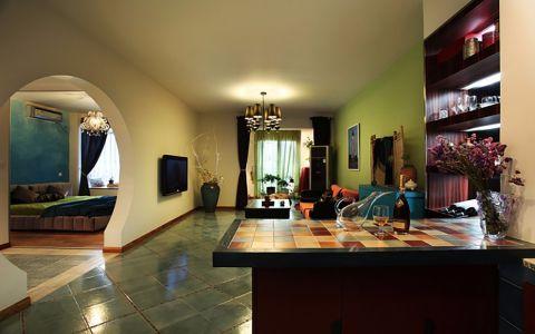 混搭风格210平米大户型房子装饰效果图
