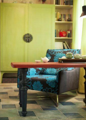 书房窗帘混搭风格装饰效果图
