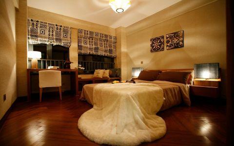 儿童房窗帘东南亚风格装潢图片