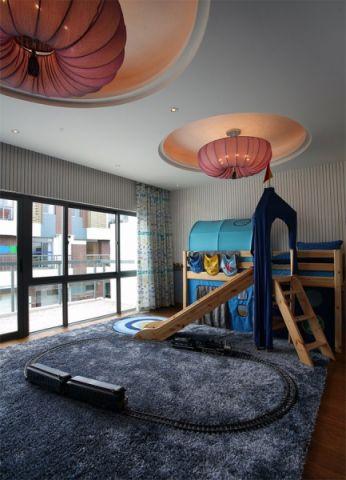 卧室吊顶东南亚风格装饰图片
