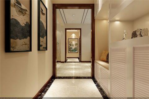 玄关照片墙新中式风格装饰设计图片
