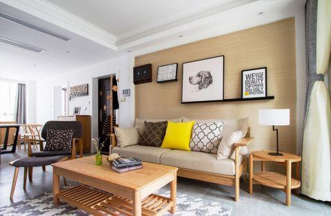 日式风格120平米2房2厅房子装饰效果图