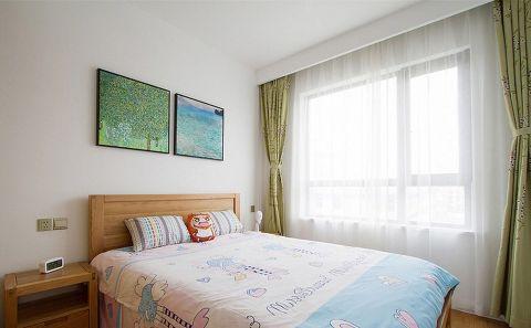卧室窗帘日式风格装饰设计图片