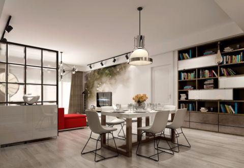 现代风格80平米小户型新房装修效果图