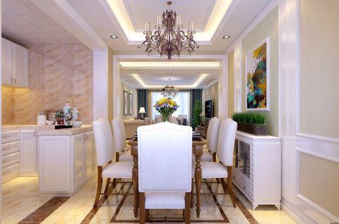 餐厅灯具美式风格装饰图片