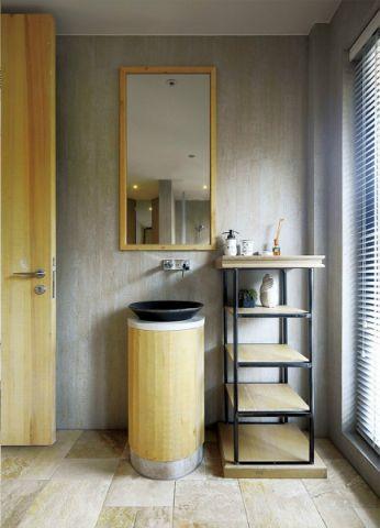 卫生间窗帘现代风格效果图