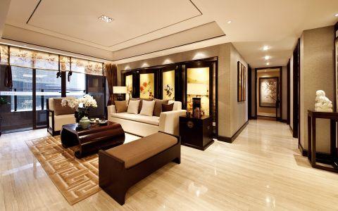 新古典风格120平米两房两厅新房装修效果图
