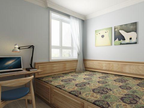 卧室榻榻米北欧风格装修图片