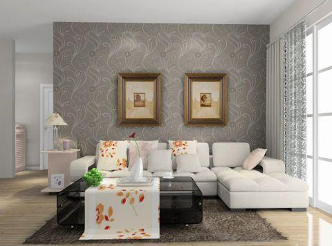 客厅沙发田园风格装饰效果图