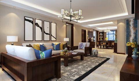 中式风格200平米别墅新房装修效果图