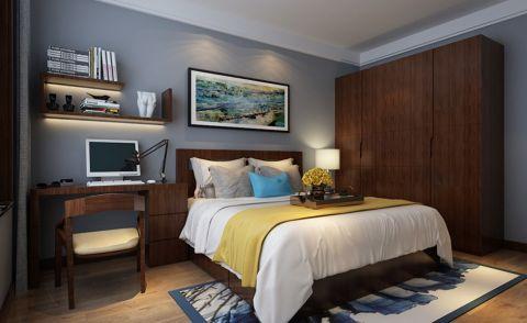 卧室衣柜中式风格装饰设计图片