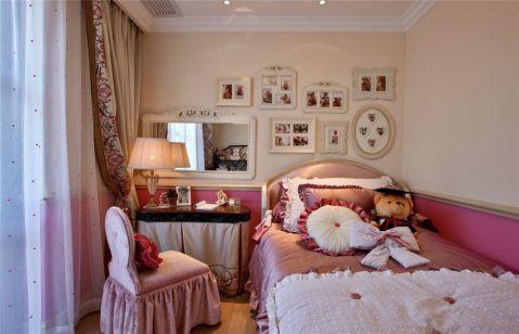 儿童房照片墙简约风格装饰设计图片