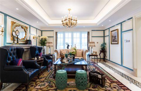 现代简约风格134平米三房两厅新房装修效果图