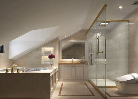 卫生间吊顶法式风格装修效果图