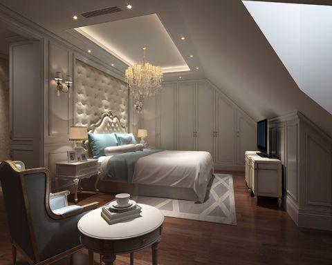 卧室灯具法式风格装潢效果图