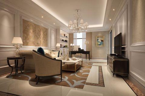 混搭风格130平米套房房子装饰效果图