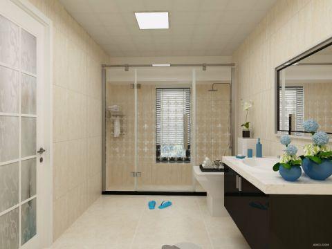 卫生间背景墙后现代风格装饰设计图片