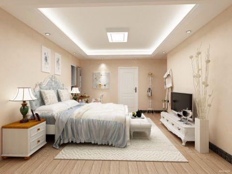 后现代风格150平米四房两厅新房装修效果图