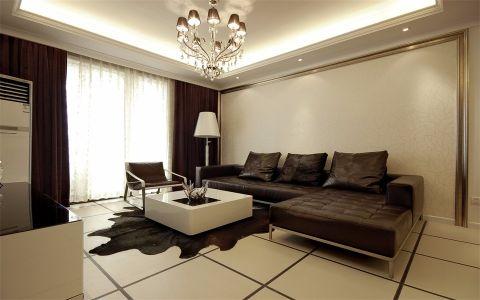 现代风格140平米三房两厅新房装修效果图
