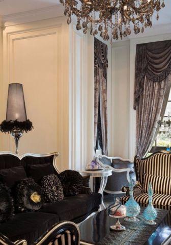 欧式风格210平米别墅房子装饰效果图