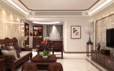 现代风格110平米楼房室内装修效果图