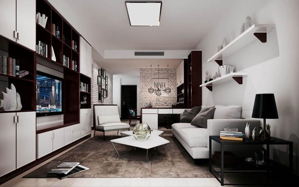 3室2卫2厅混搭风格