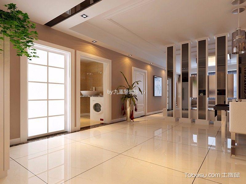 餐厅白色走廊简约风格效果图