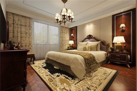 简欧风格116平米三房两厅新房装修效果图