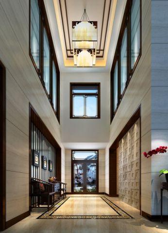 玄关吊顶中式风格装修图片