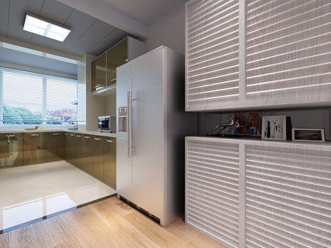 厨房窗帘现代简约风格装潢设计图片