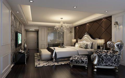 欧式风格120平米3房2厅房子装饰效果图