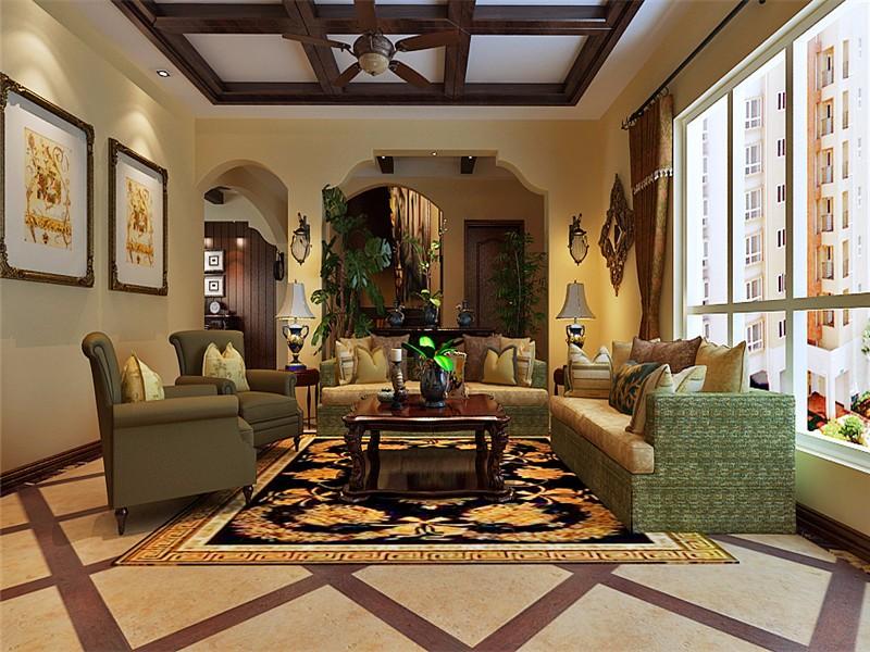 2室1卫2厅180平米美式风格