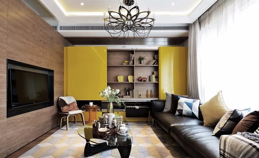 3室2卫2厅134平米现代风格