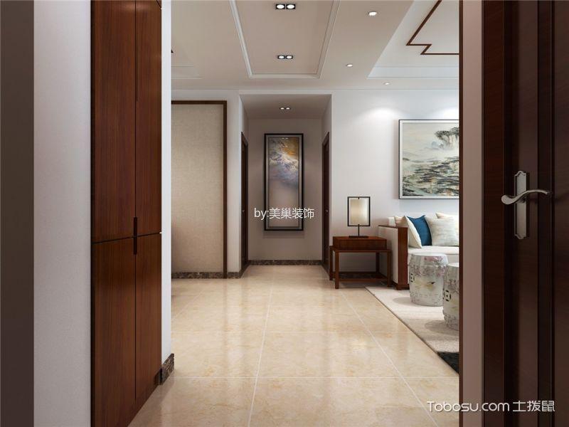 玄关米色走廊新中式风格装饰效果图