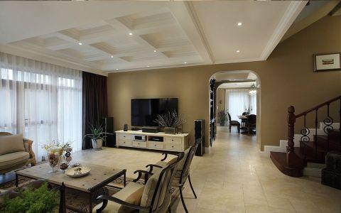 简欧风格160平米别墅房子装饰效果图