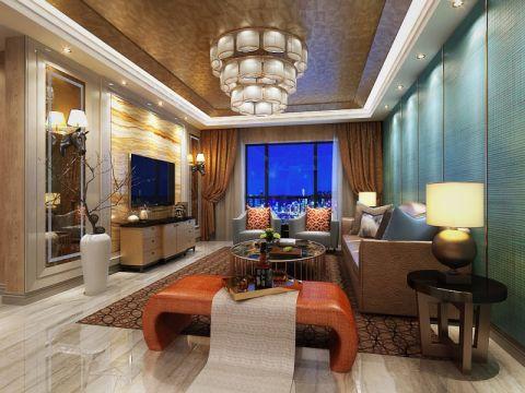 简约风格130平米2房2厅房子装饰效果图