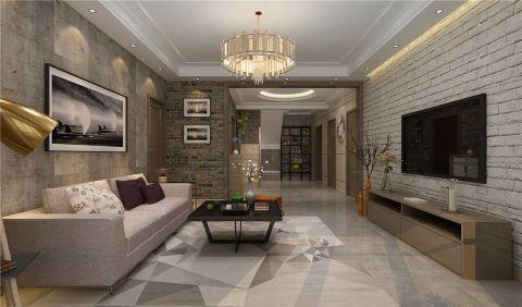 混搭风格280平米复式新房装修效果图