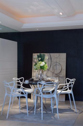 餐厅背景墙简约风格装饰图片
