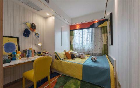 卧室窗帘简约风格装潢图片