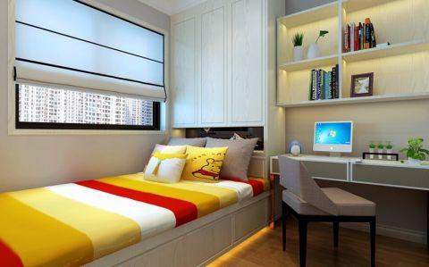 卧室博古架现代简约风格装修效果图